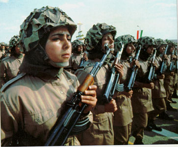 Female Iranian Special Forces